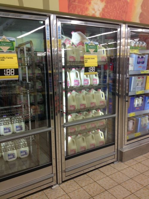 Milk at ALDI