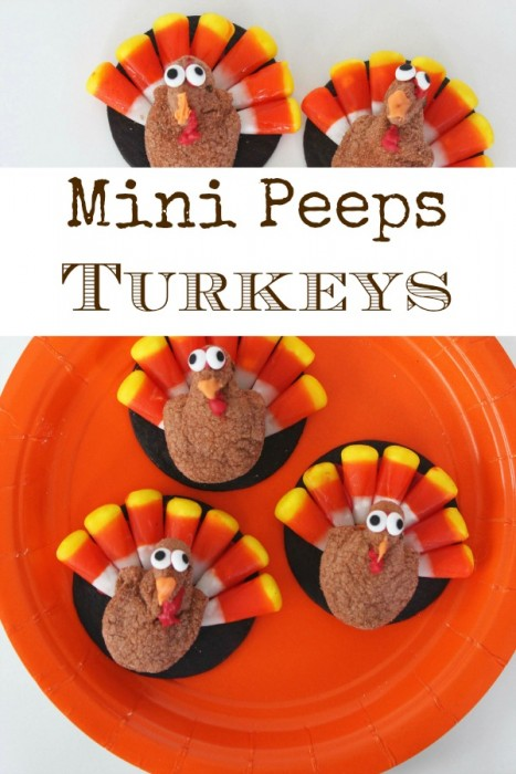 Mini Peeps Turkeys