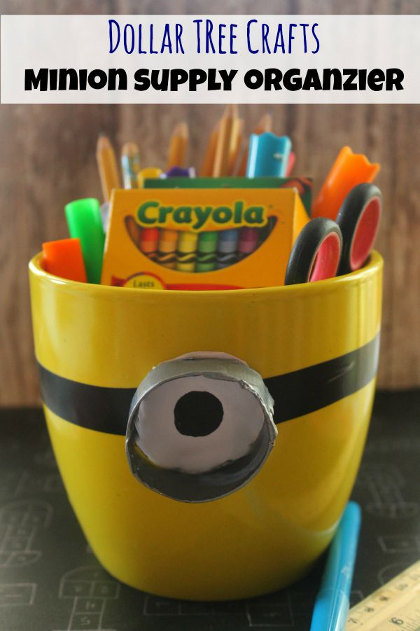 Minion Supply Organizer Dollar Craft