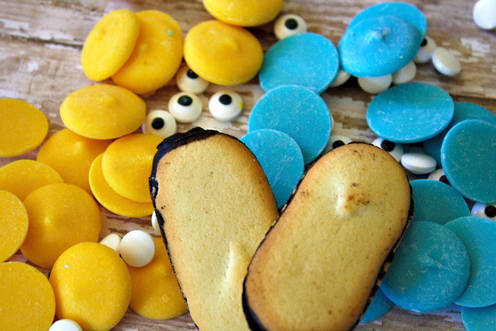 Minions Cookies Ingredients