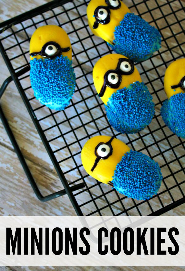 Minions Inspired Cookies