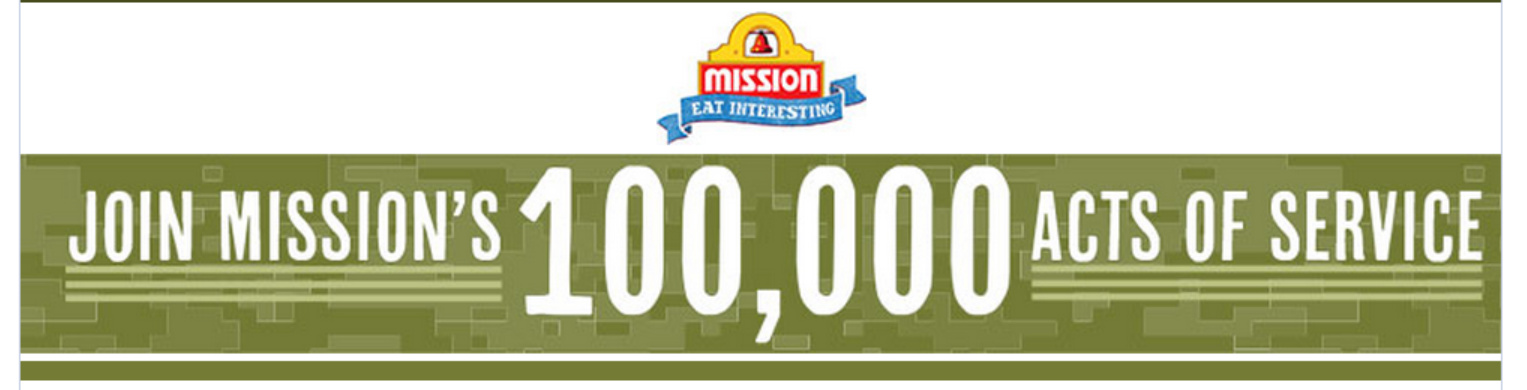 Mission 100000 Acts of Service