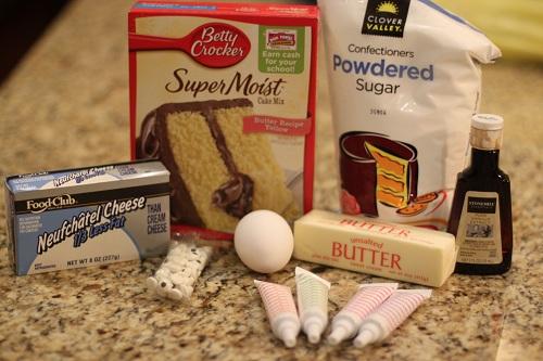 Monster Eye Cookies Ingredients