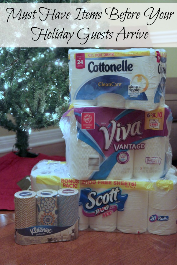Must Have Items Before Your Holiday Guests Arrive KC
