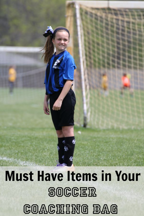 Must Have Items in Your Soccer Coaching Bag #FindYourHealthy