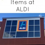 My Must Buy Items at ALDI
