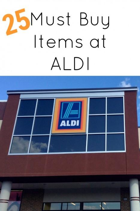 25 Must Buy Items at ALDI