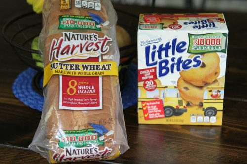 Back to School Lunches Made Easy with Nature's Harvest® Bread and Entenmann's® Little Bites™ Snack