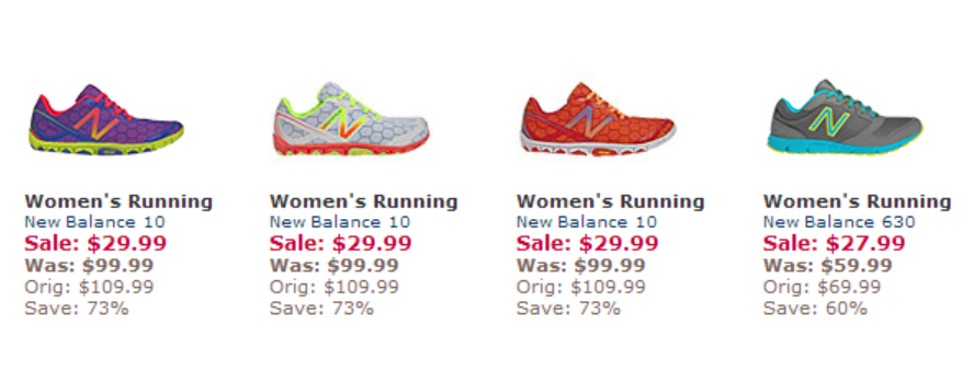 New Balance Blow Out Sale
