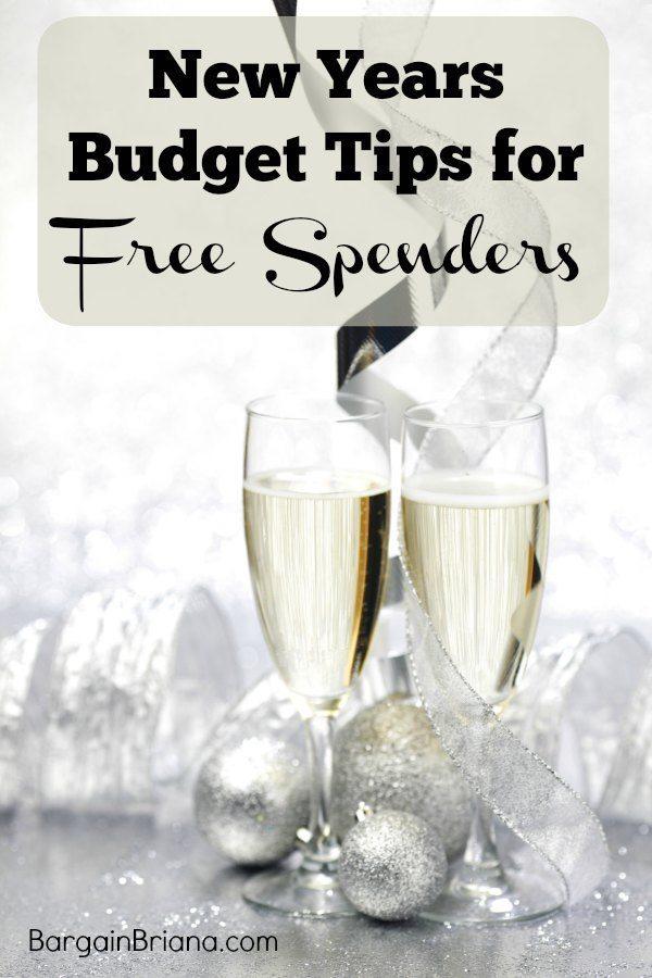 New Years Budget