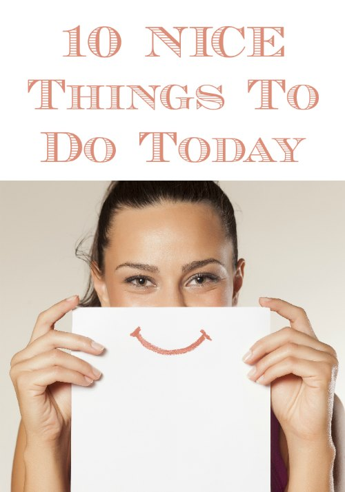 Nice Things to Do For Others
