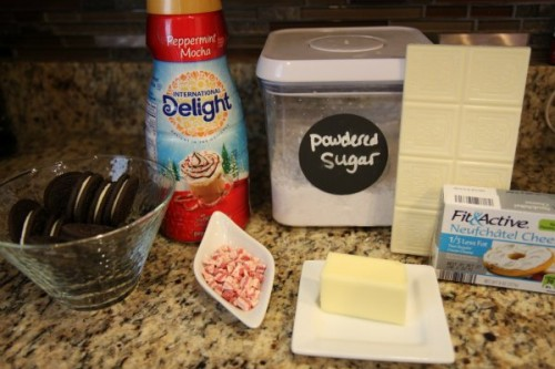No Bake Peppermint Chocolate Cheesecake Ingredients