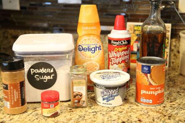No Bake Pumpkin Cheesecake Mousse Ingredients