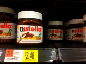 Nutella Deal at Walmart