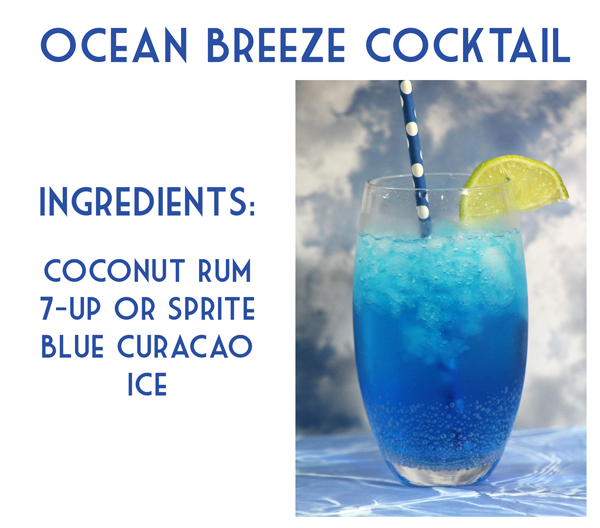 Ocean Breeze Cocktail Recipe