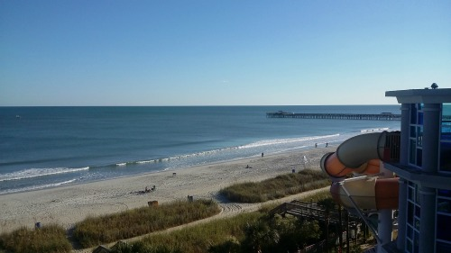 Oceanside view from room Crown Reef Resort