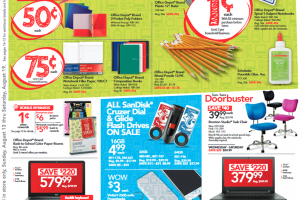 Office Depot/Office Back to School 1¢ Deals Starting 8/13