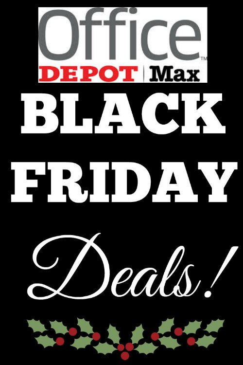 Office Depot and OfficeMax Black Friday Deals
