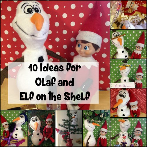 Olaf Elf on the Shelf Ideas