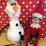 Olaf and Elf on Shelf1