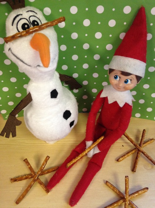 Olaf and Elf on Shelf4