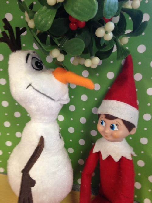 Olaf and Elf on Shelf6
