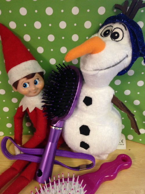 Olaf and Elf on Shelf9