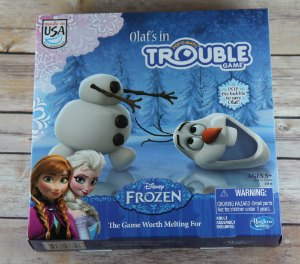 Olafs in Trouble Frozen Game Holiday Gift Guide