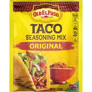 Free Old El Paso Taco Seasoning at Kroger
