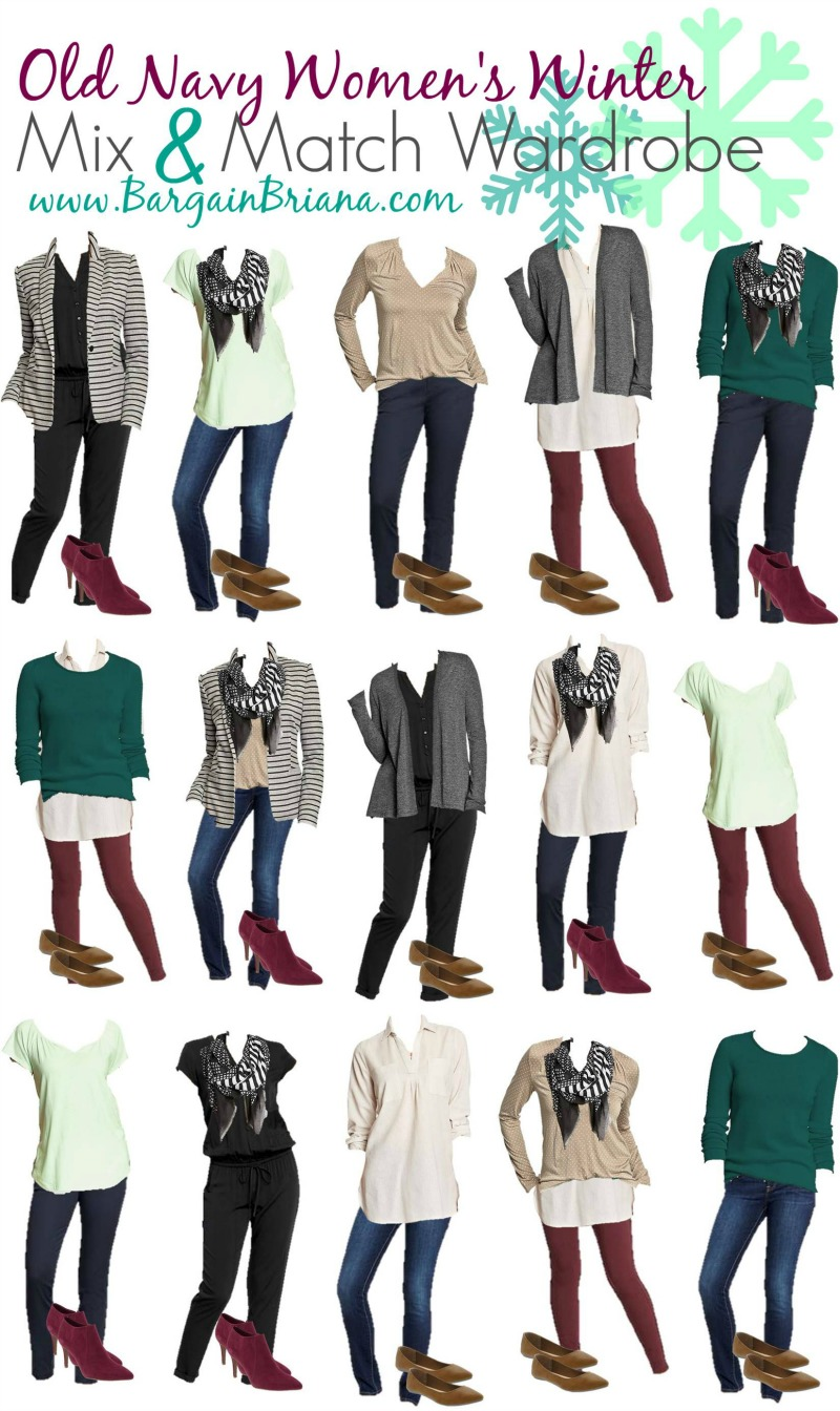 Old Navy Womens Mix and Match Board