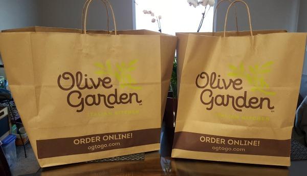 Olive Garden To Go