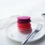 Ombre Pink Pancakes