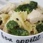One Skillet Dinner - Broccoli Parmesan Chicken Pasta