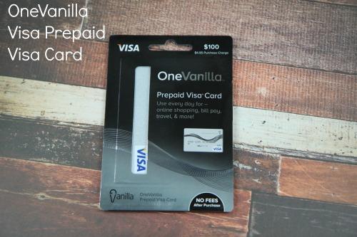 OneVanillaVisa Prepaid Card