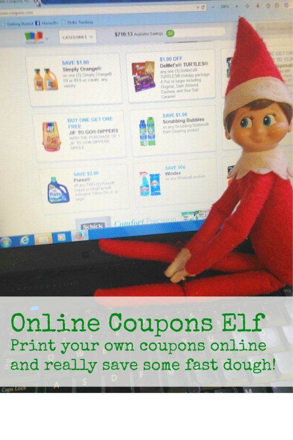 Online Coupons Elf via Bargain Briana