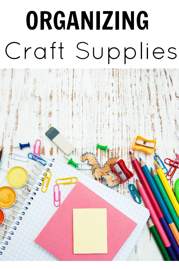 Organization Craft Supplies
