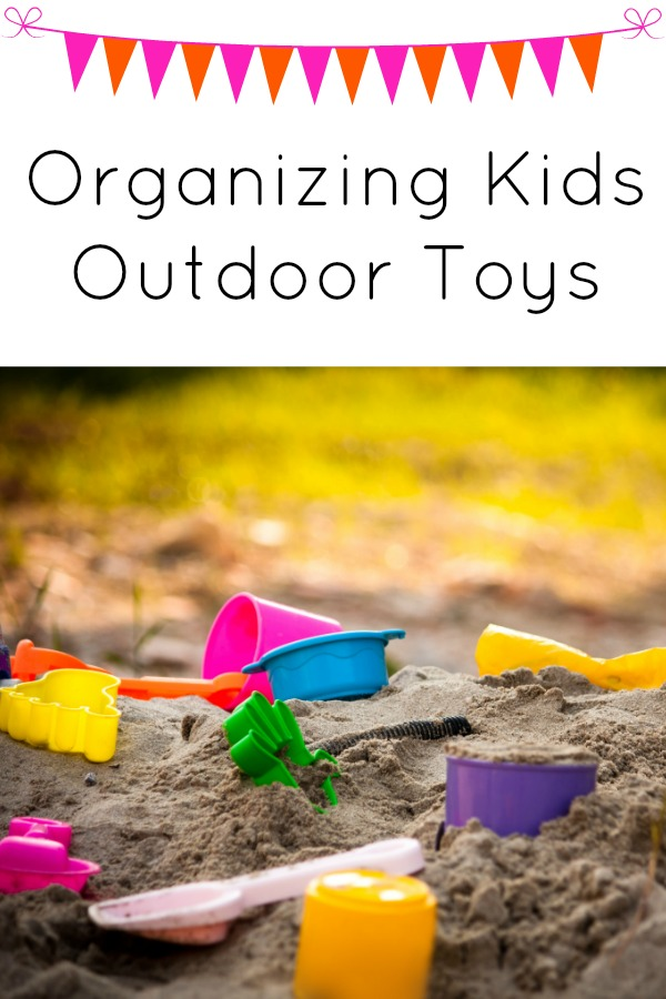 Organize Kids Outside Toys