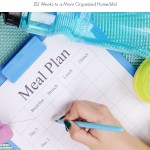 Organize Your Meal Plan