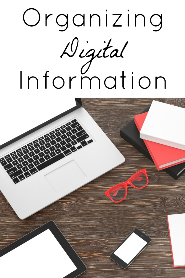 Organized Digital Information