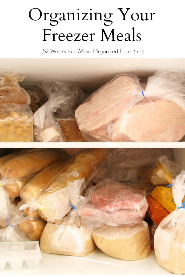 Organizing Your Freezer Meals