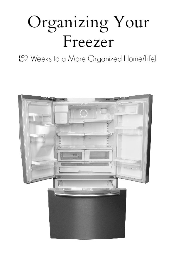 Organizing Your Freezer