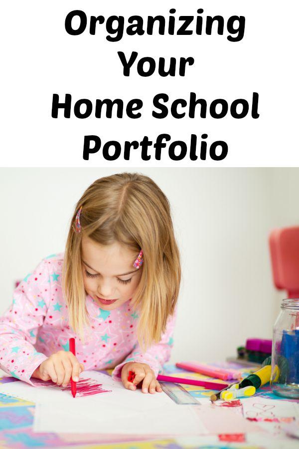 Organizing Your Home School Portfolio