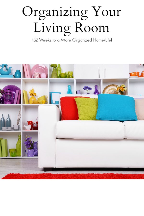 Organizing Your Living Room