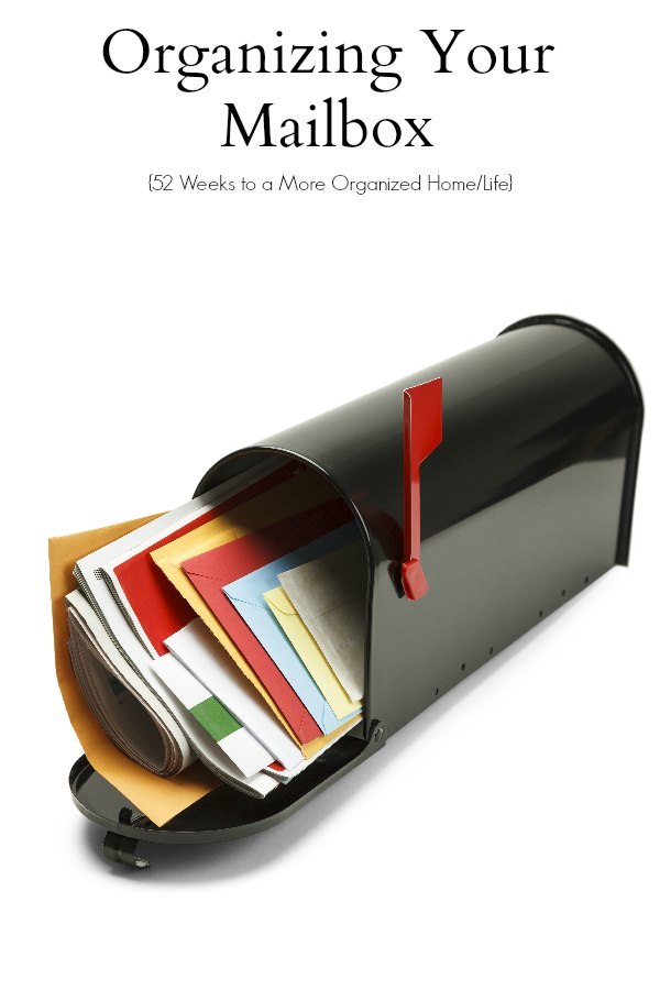 Organizing Your Mailbox