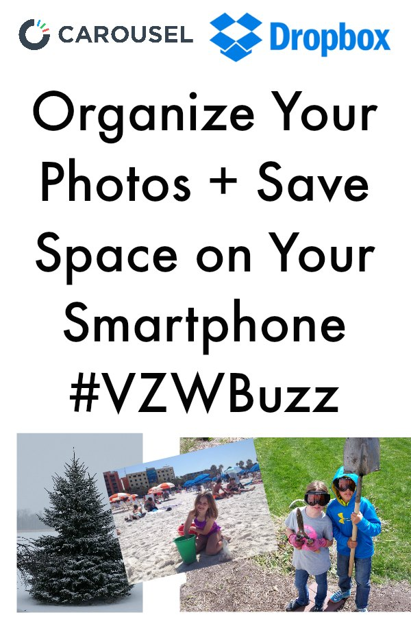 Organizing Your Photos with Carousel and Save Space on Your Smartphone #VZWBuzz