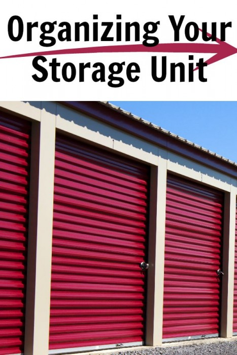 Organizing Your Storage Unit - Organization