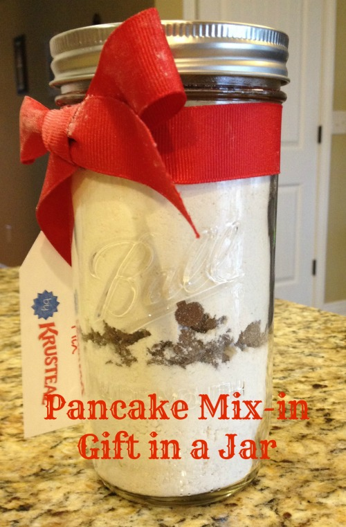 Pancake Mix-in Gift in a Jar