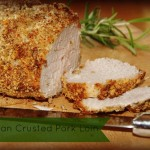 Parmesan Crusted Pork Loin recipe