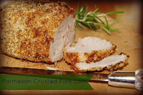 Parmesan Crusted Pork Loin Recipe