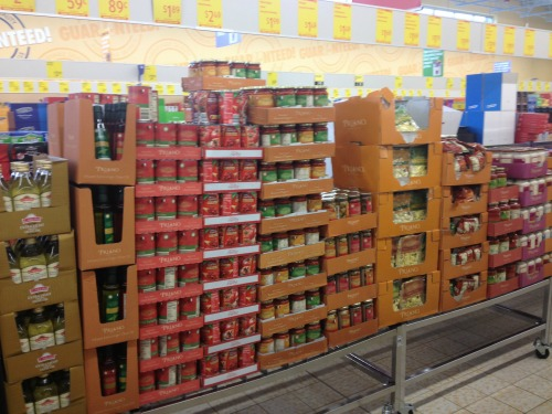 Pasta and Sauces at ALDI